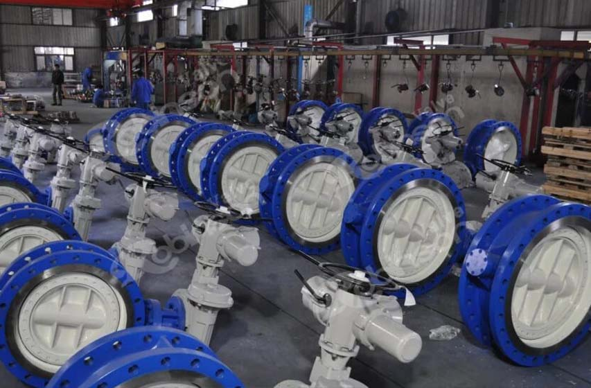 Electric Actuator Triple Offset Butterfly Valve