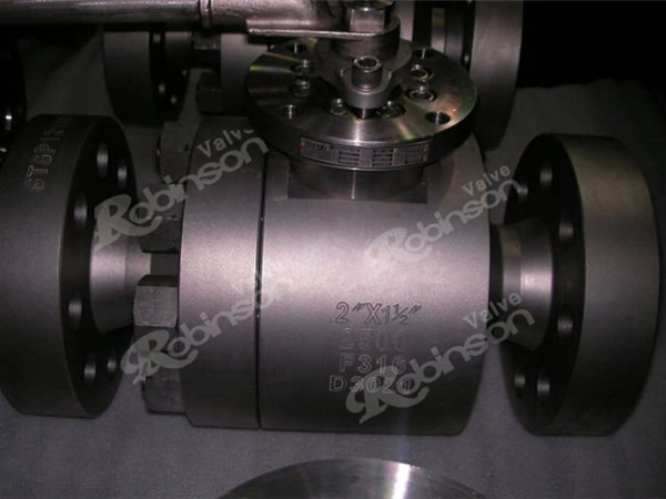 2500LB Forge Steel Ball Valve 316L Flange