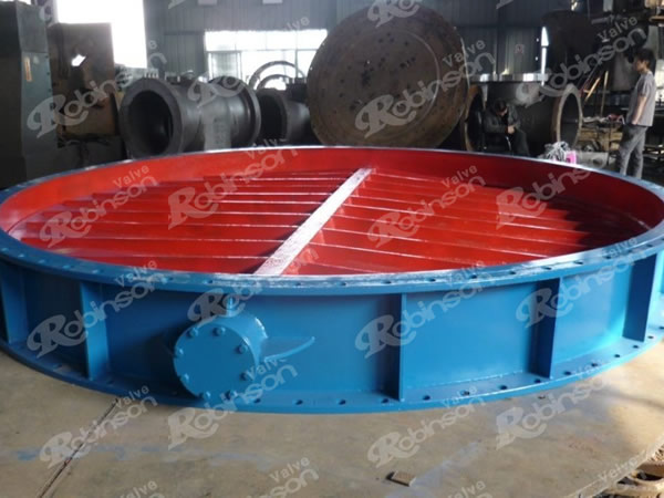 Aeration Butterfly Valve Large Size Flanged