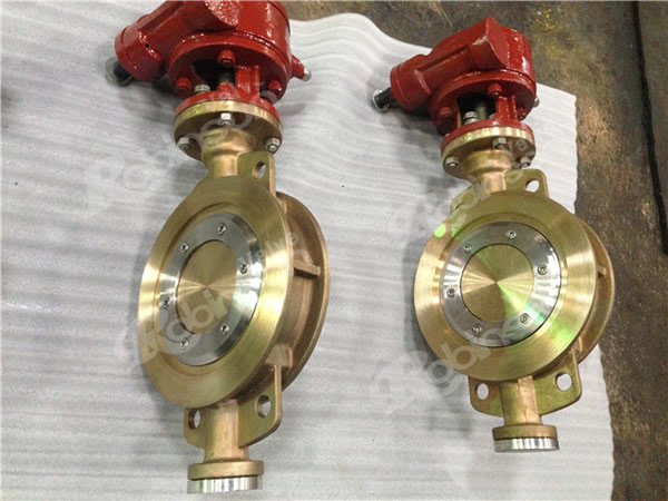 Aluminum Bronze High Performance Wafer  Butterfly Valve