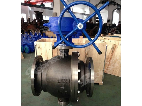 API  Split Ball Valve 2Pc Ti Material High Quality