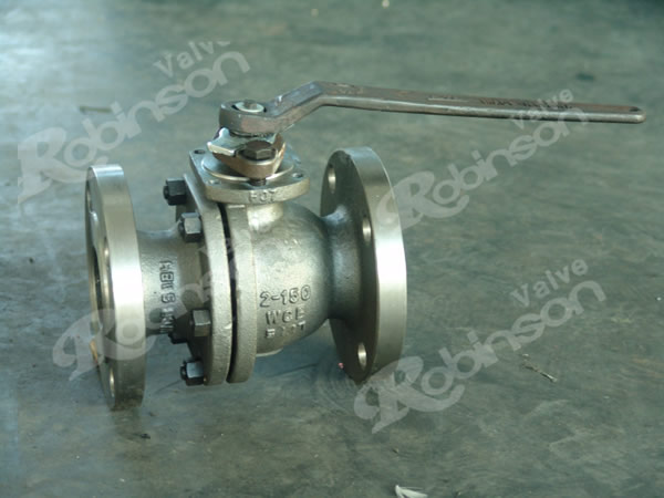ASME 150lb Floating Ball Valve Flange End