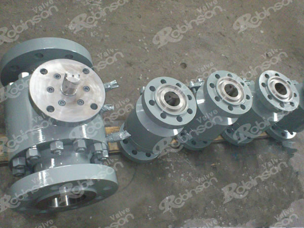 Cast Floating Flanged Ball Valve