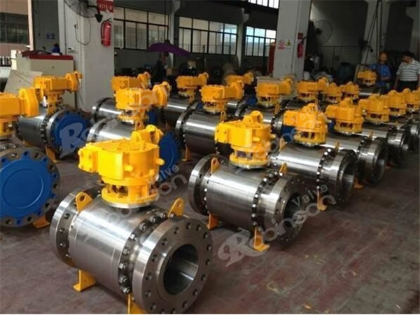 Cast Steel 3Pc Forged Steel Ball Valve