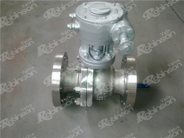 Casting Split Body Floating Ball Valve