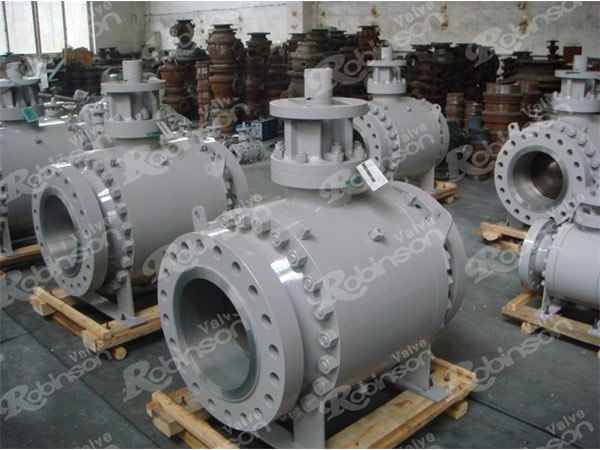 Casting Type Flanged Ball Valve