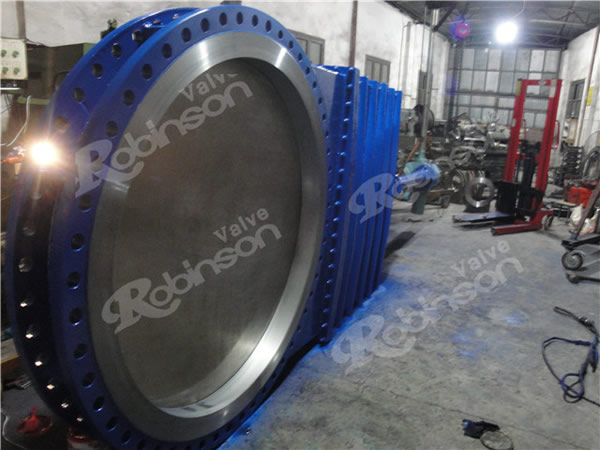 Large Size Knife Gate Valve Flange Wcb High Quality China Supplier