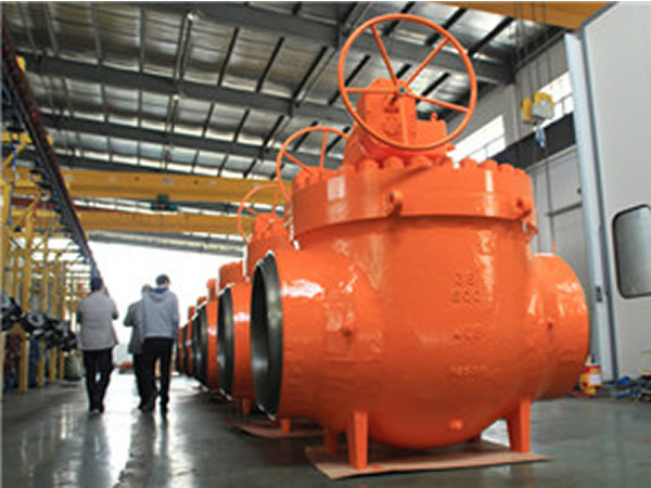 Large Size High Pressure Top Entry Ball Valve China Supplier