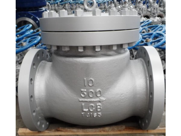"Low Temperature Lcb Swing Check Valve 10"" Class300"