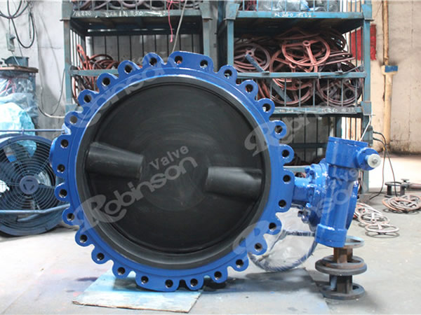 Lug Butterfly Valve Full Epdm Lined Two Shaft High Quality