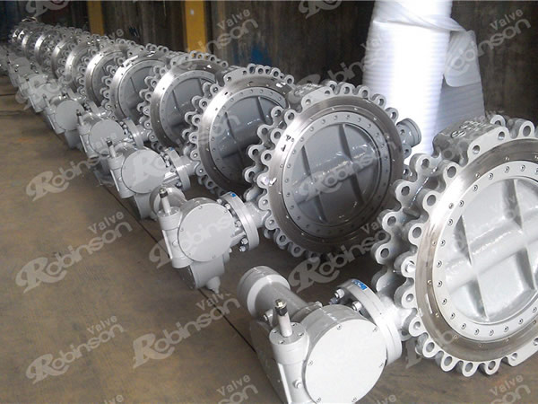Triple Eccentric Butterfly Valve Lug Type