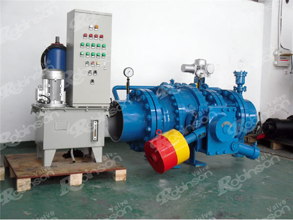 Main Inlet Valve For Turbine Hammer Type Hydraulic Ball Valve