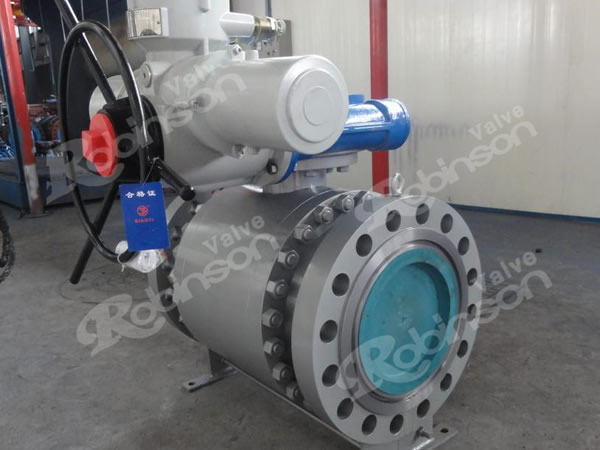 Motorized Ball Valve Trunnion Mounted Ball Valve High Quality
