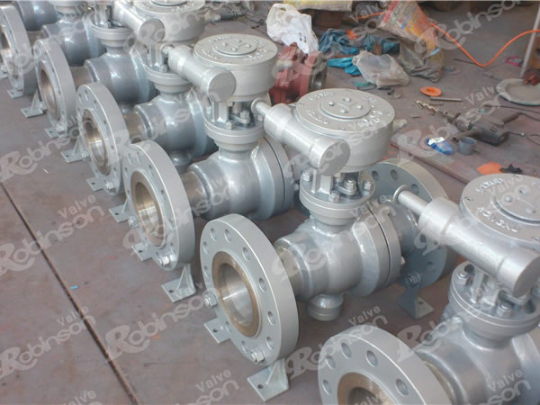 Reduced Type Floating Ball Valve