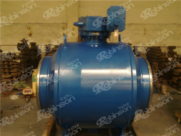 Turnnion Mounted Ball Valve Weld Type