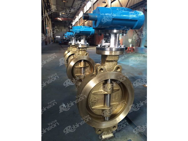 Wafer Butterfly Valve C95800 Aluminum Bronze