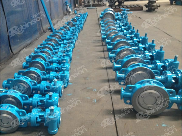 Wafer Style Metal Seated Butterfly Valves